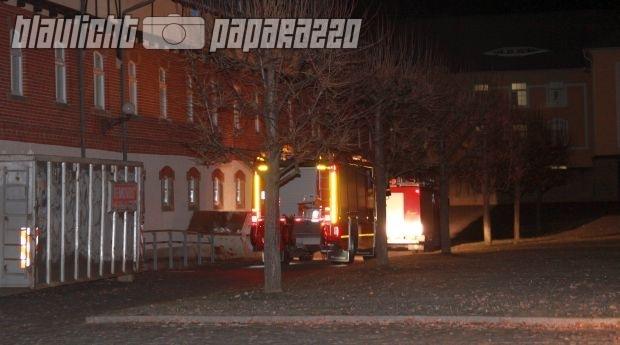 Schmochtitz Feueralarm im Bischof Benno Haus