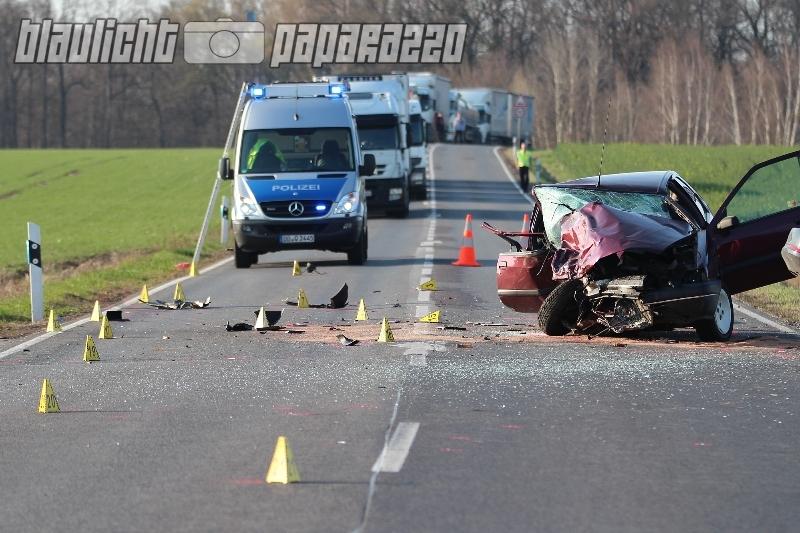 Unfall B96 Heute