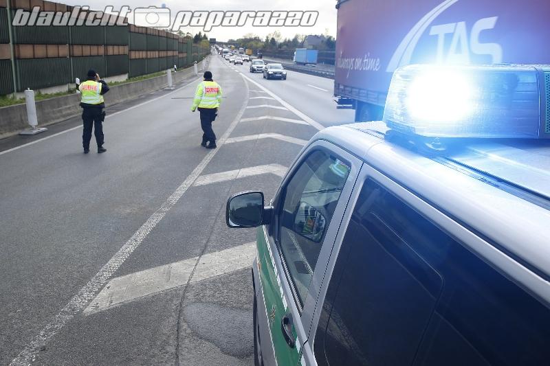 Polizeikontrollen in Ostsachsen