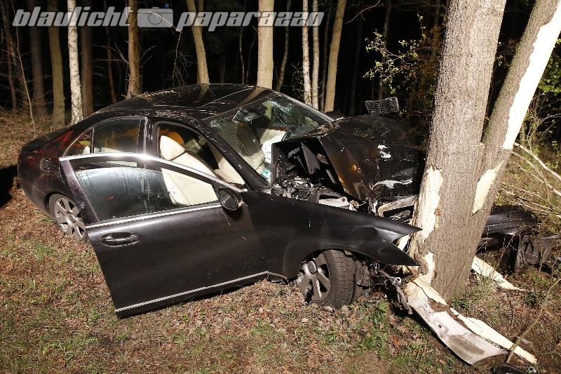 Mysteriöser Unfall bei Hoyerswerda