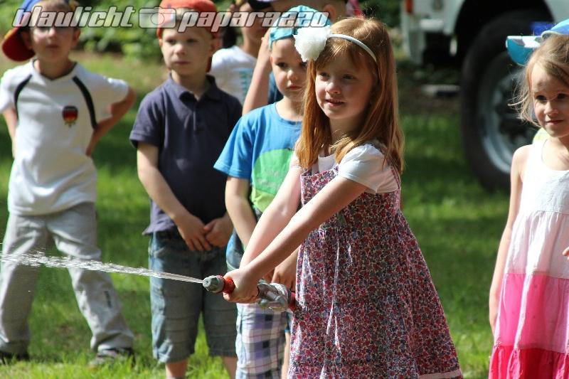 Hermsdorf: Spiel und Spaß mit der Feuerwehr