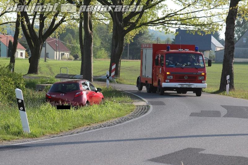 Unfall bei Tröbigau/Putzkau