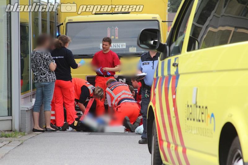 Schwerer Unfall in Bautzen