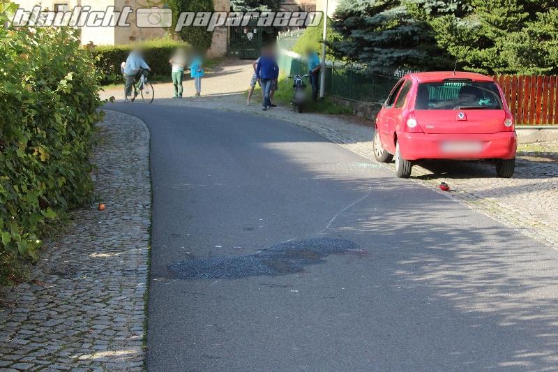 Motorradunfall in Weißbach