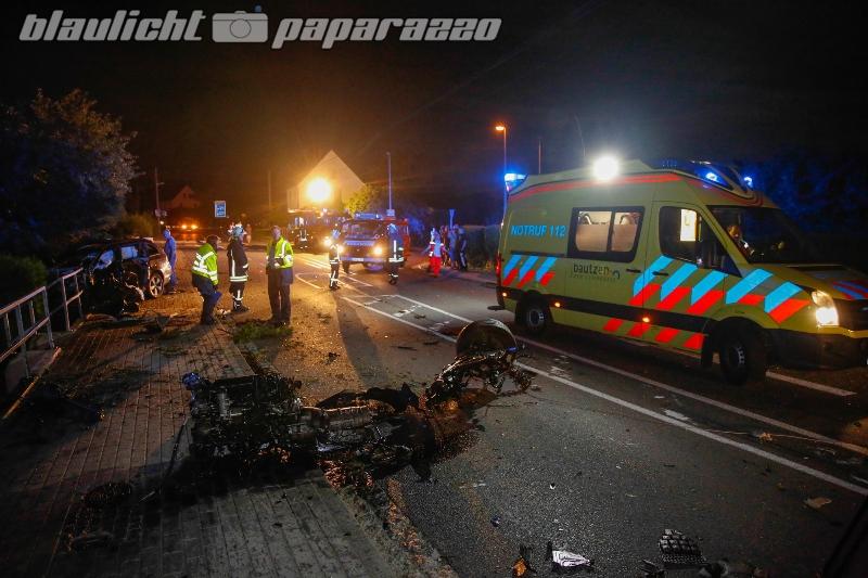 Ohorn: Schwerer Unfall am Abend gegen 23.45 Uhr auf der Bretnige