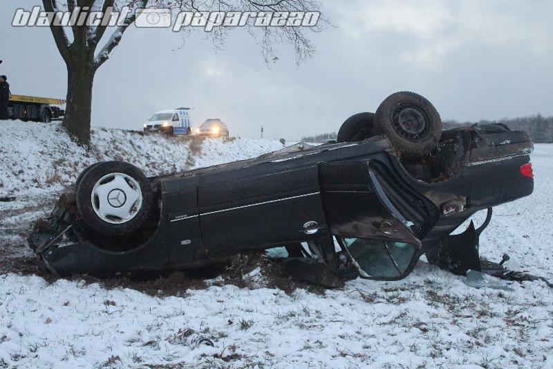 Niedergurig: 3 Unfälle auf ein Mal