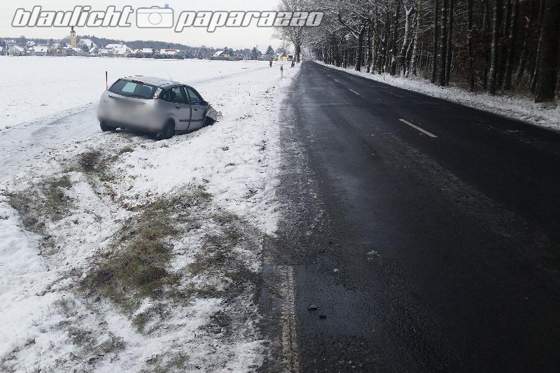 Verletzte nach Unfall bei Ossling
