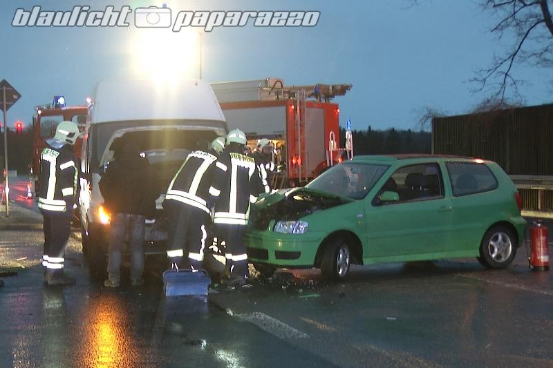 Radeberg: Unfall auf der Kamenzer Straße