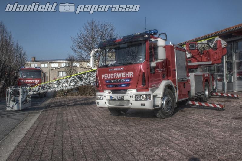 Neue Mega-Drehleiter für die Feuerwehr Leppersdorf