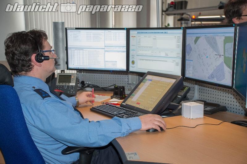 Polizei-Leitstelle in Betrieb genommen