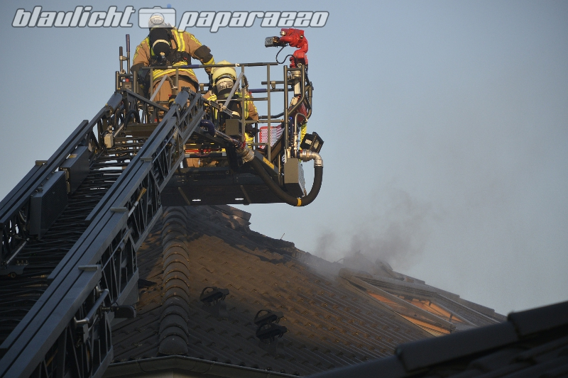 Dachstuhlbrand in Großwelka