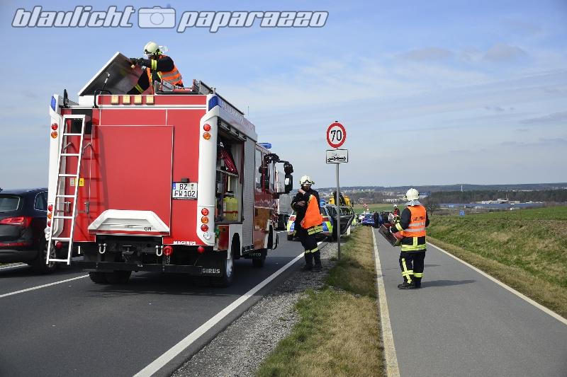 Unfall auf der S177 bei Ottendorf-Okrilla