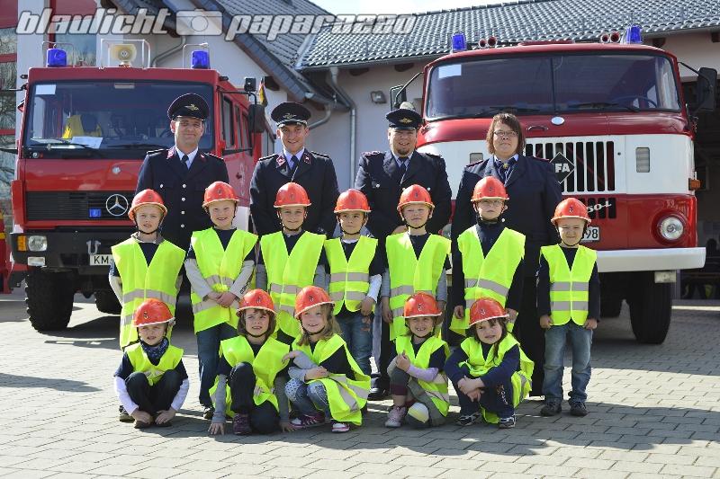 Kinderfeuerwehr in Lichtenberg wird 5 Jahre