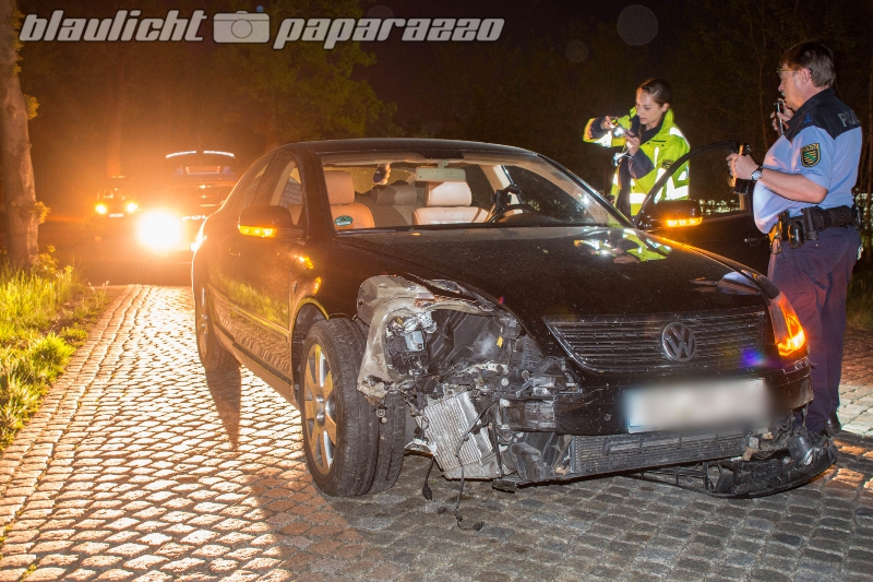 Unfall bei Königsbrück