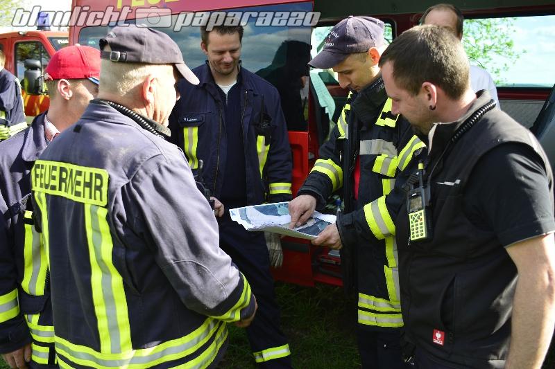 Feuerwehr sucht nach Gisela Schmidt
