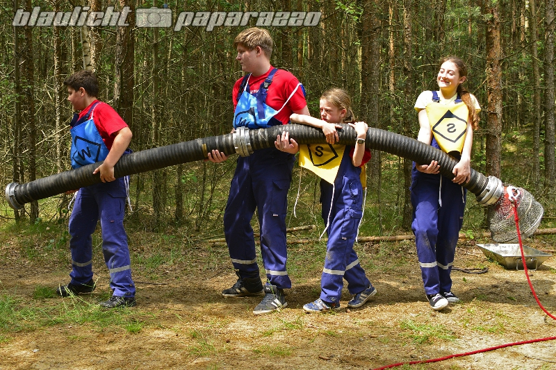 Jugendfeuerwehren messen sich am Keulenberg