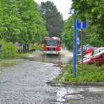 Schweres Unwetter am Samstag Nachmnittag in kamenz
