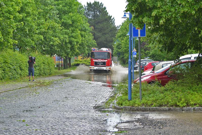 Land unter in Kamenz