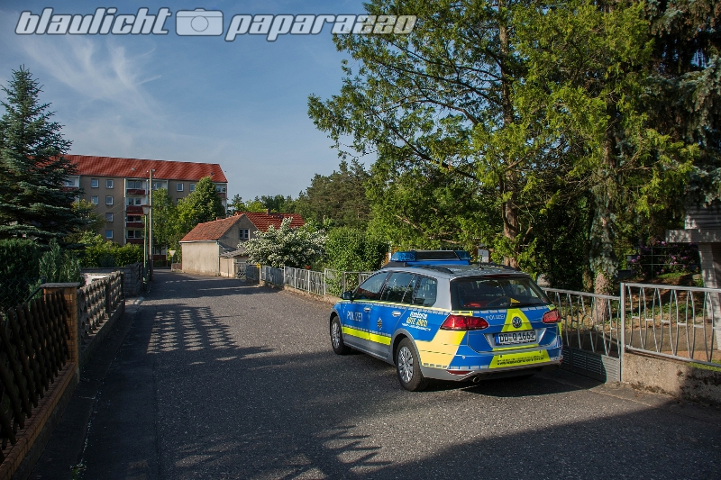 Schwepnitz: Person ertrinkt in eigenem Garten