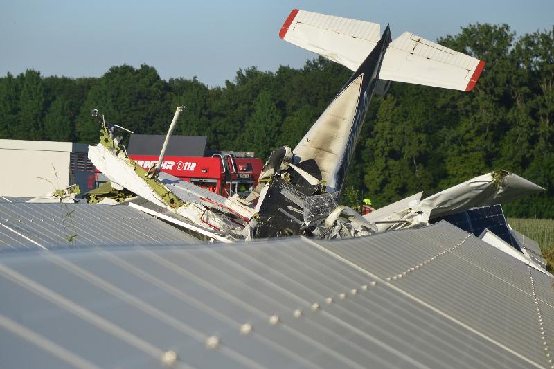 Flugzeug Abgestürzt