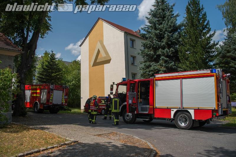 Kinderwagen brennt in Wohnhaus