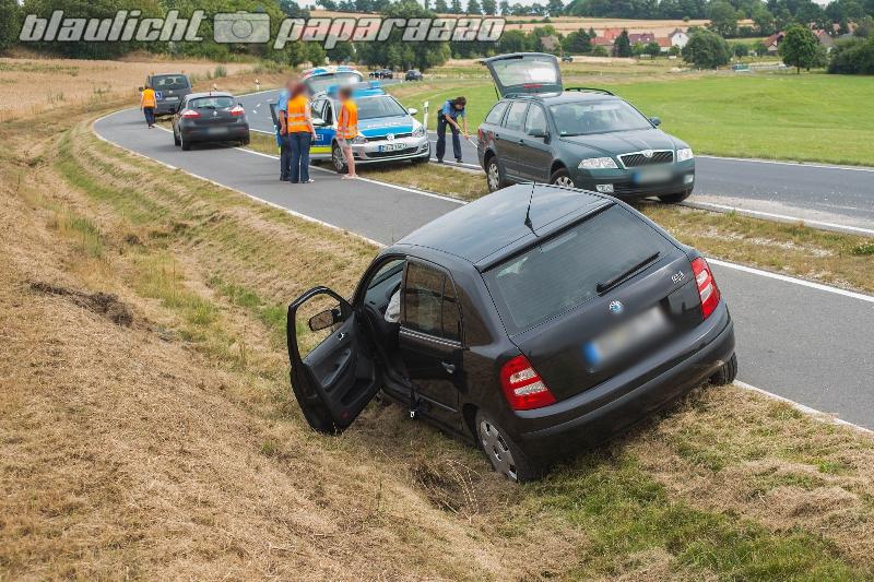 Verkehrsunfall bei Seifersdorf